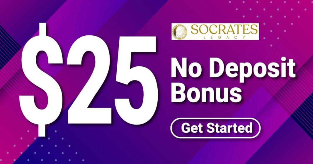 $25 No Deposit Bonus – Socrates Legacy